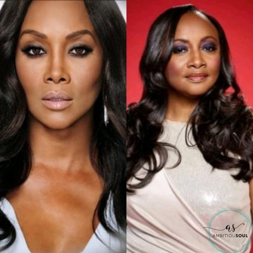 Vivica A. Fox (Left) Pat Houston (Right)